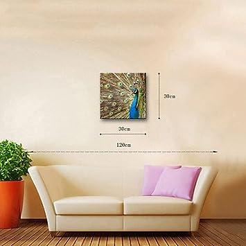 Hygg 1 carré de toile imprimer décor mural pour la décoration de la maison cadre