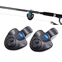 This original fishing bite alarm is a patent product by YOLO. It can work stably in outdoor humid environment. With loud alarm and bright LED flashlight, it enable you to handle multiple fishing poles at the same time at night. Easy to use: T...