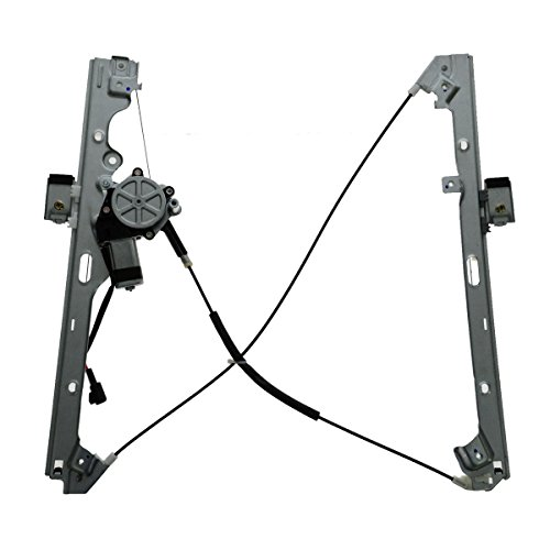 Front Power Door Window Regulator w/ Motor Passenger Side RH R for Chevy Silverado 1500 Tahoe Suburban 1500 Avalanche 1500 Silverado 2500 HD Silverado 2500 GMC Sierra 1500 (Rh Front Door Regulator)
