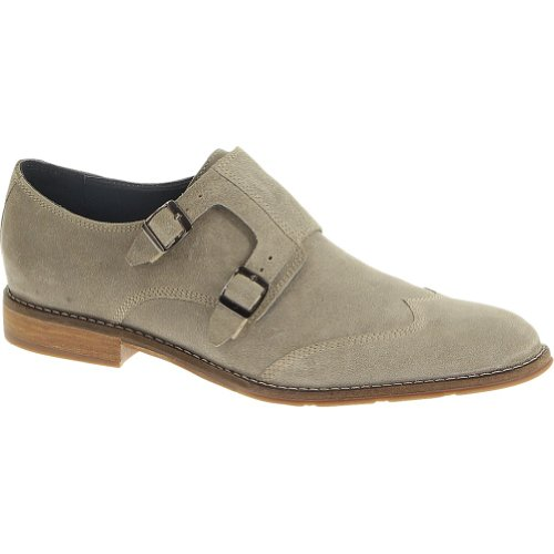 Men's Hush Puppies Style Monk Strap (11 M in Taupe Suede)