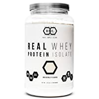 Realist Lifestyle REAL Whey Protein Isolate, Invisible Flavor, Clean Ingredients...