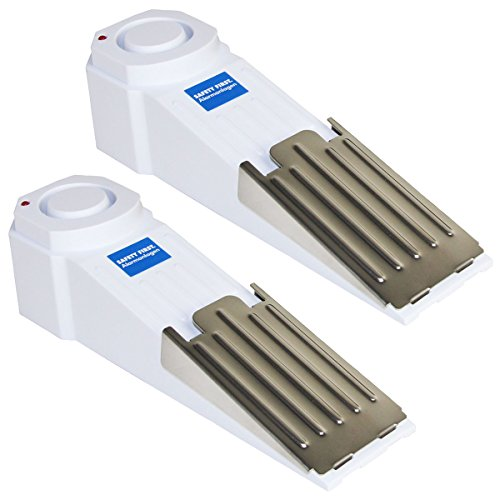 kh security Alarm-Türstopper 2-er Set, weiß, 100185set2