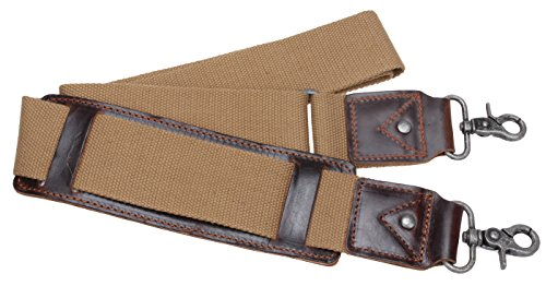 iblue-replacement-luggage-shoulder-strap-canvas-adjustable-padded-travel-duffle-bag-straps-j2-khaki