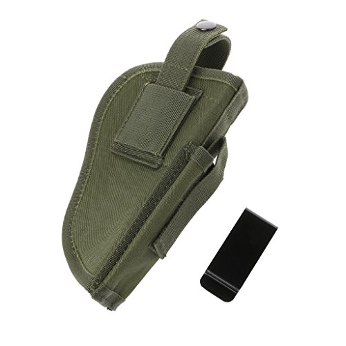 ULKEME Tactical Gun Pistol Holsters Left Right Hand Waterproof Shooting Airsoft Pouch (Army Green)