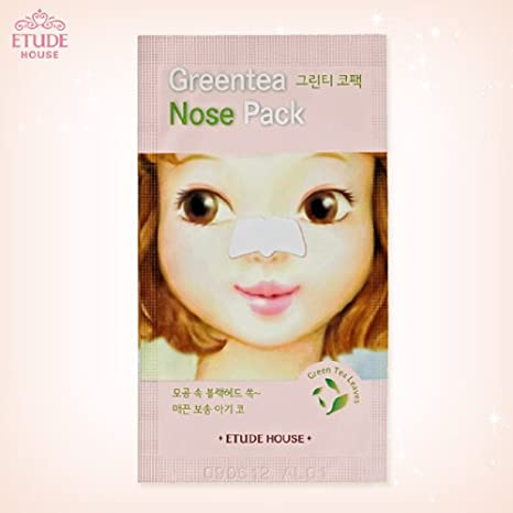 Image result for etude house green tea nose pack