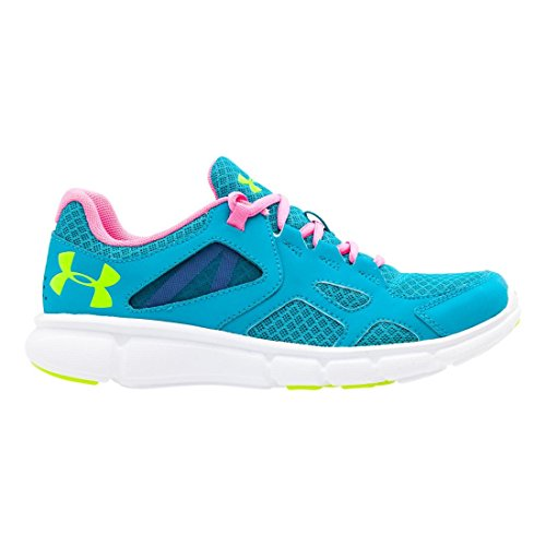 Under Armour Ladies Thrill Running Shoes, Blue Pacific Blue