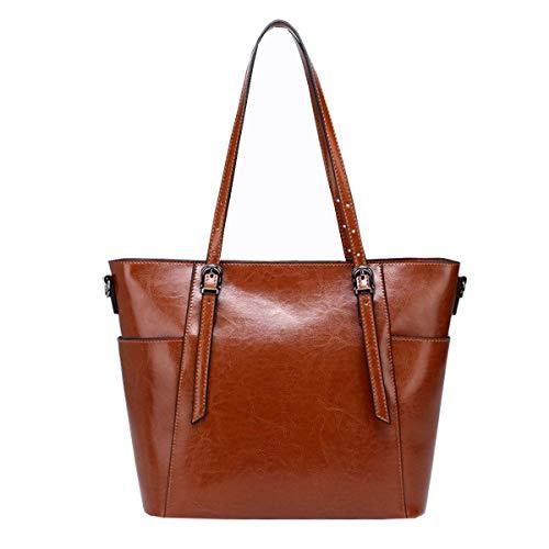 Bag In Nuove Signore Borsa E Marrone Tracolla Moda In Pelle Grande Negli Stati Pelle Europa Uniti Messenger Bag Shopping Borse 2018 A TAq00