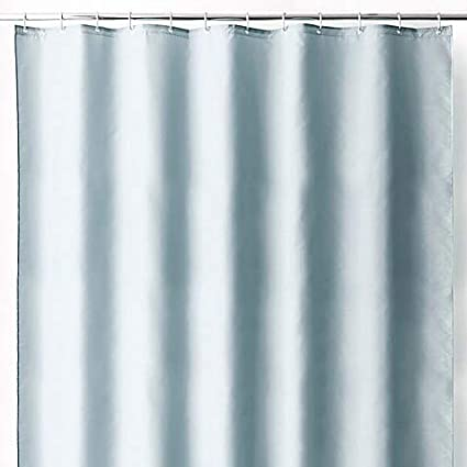 Wamsutta 70 Inch X 72 Fabric Shower Curtain Liner With Suction Cups In
