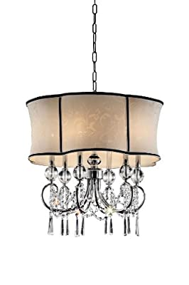 OK-5131H 25-Inch H Nuvola Crystal Ceiling Lamp