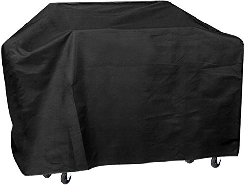 GPCT [57 INCH] [Waterproof] Outdoor Patio BBQ Grill [Protection Cover] Protects Against Rain/Frost/Wind/Dirt/UV Rays. Heavy Duty Gas Grill Cover- Weber/Brinkmann/Char Broil/Holland/Jenn Air/Nexgrill