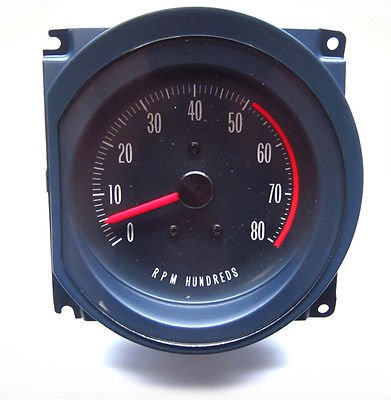 The Parts Place Pontiac GTO Lemans Dash Tach Clock Replacement - Now In Stock