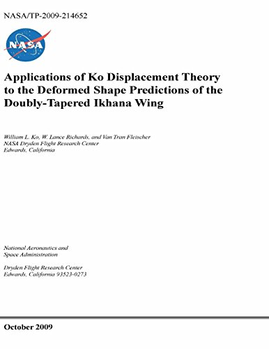 Applications of Ko Displacement Theory to the Deformed Shape Predictions of the Doubly-Tapered Ikhana (Tapered Shape)