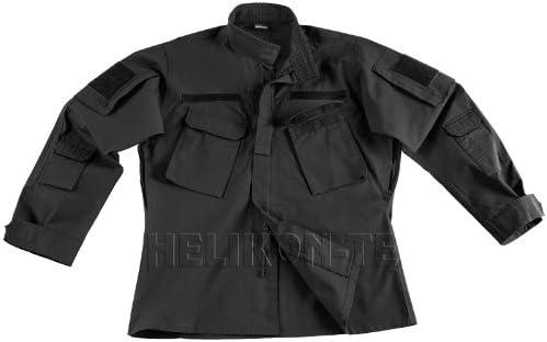 Helikon CPU Camisa Polycotton Ripstop Negro