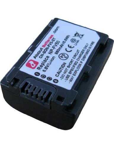 Li-ion 980mAh Batterie pour SONY DCR-HC18E 6.8V
