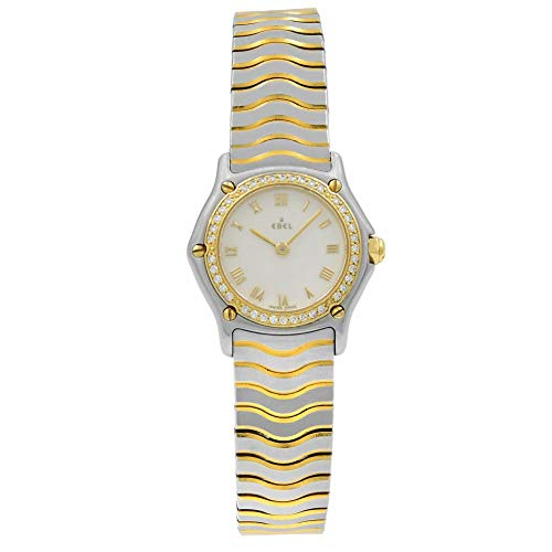 Ebel Wave Watch - Ebel Wave Quartz Female Watch 1057902 (Certified Pre-Owned)