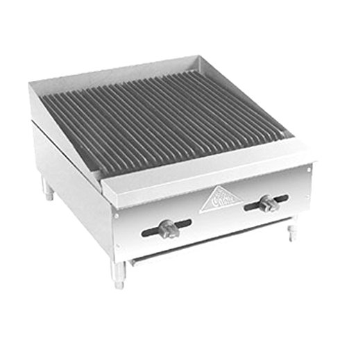 (Comstock Castle FHP18-1.5RB Gas Countertop Radiant Char Broiler)