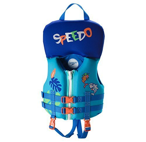 - Speedo Infant Neoprene Lifevest- One size up to 30lbs