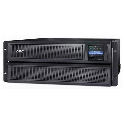 APC American Power Conversion Smart-UPS X 100-127V 2000VA Extended Run Rack/Tower Convertible 4U Short Depth LCD UPS, Black