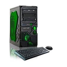 CybertronPC Borg-Q GM4213B Desktop PC (Green)