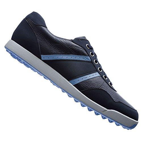 Men's Footjoy Contour Casual Golf Shoes Navy/Light Blue/Grey Size 9.5 M US