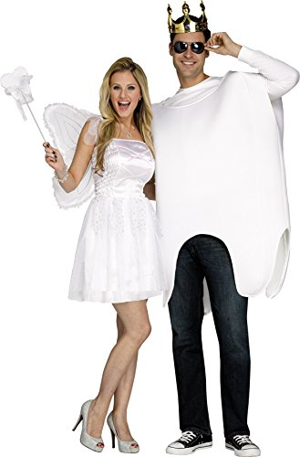 UHC Unisex Tooth Fairy- Tooth Comical Theme Party Adult Couples Costume, OS