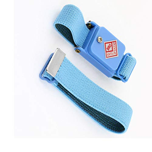 Aexit Blue Cordless Tool Sets Stretchy Wristband Anti-Static Wireless ESD Tool Sets Wrist ()