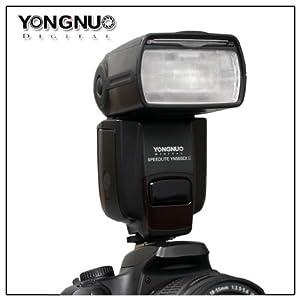 Yongnuo YN-565EX II TTL Flash Speedlite for Canon 650D, 600D, 550D, 1000D, 1100D, 5DII, 5DIII, 1DIV (YN-565EX Flashlight Upgrade Version) from Yongnuo