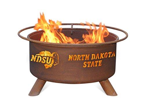 Patina Products F460 North Dakota State Fire Pit, Rust