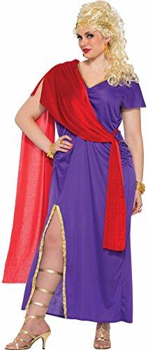 [Forum Women's Roman Empress Costume, As Shown, STD] (Roman Goddess Xlarge Costumes)