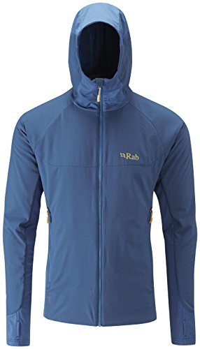 Rab Alpha Flux Jacket - Men's Ink/ Ink/ Merlin Medium for sale  Delivered anywhere in USA