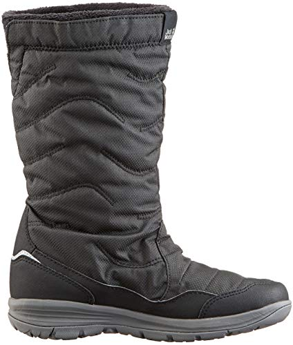 W Schwarz Vancouver Texapore Black 6000 Boot Damen Wolfskin Schlupfstiefel Jack qFEX00