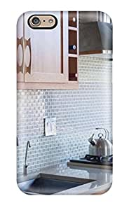 Perfect Fit CZKXejx8810UobEp Modern Gray Tile Kitchen Backsplash Case For Iphone - 6