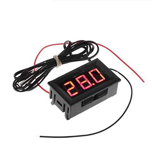 Thermometer Cherry - Cherry-Lee Aquarium Water Temperature Meter, 50~110℃ Waterproof Thermometer Digital Thermometer Large Screen LED Display Thermostat for Fish Tank Refrigerator