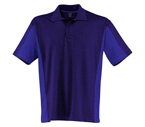 Kübler Shirt Polo 1/2 marine/kornblumenblau Größe XS