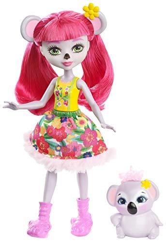 Enchantimals Muñeca con mascota Karina Koala (Mattel FNH24)