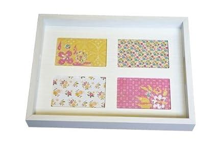personalizado tu propio de servir bandeja de Foto & Pinturas madera blanca
