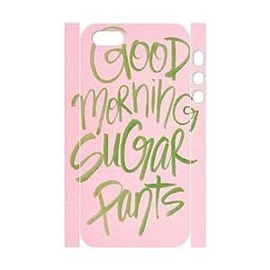 Custom New Case for Iphone 5,5S 3D, Good Morning Phone Case - HL-518558