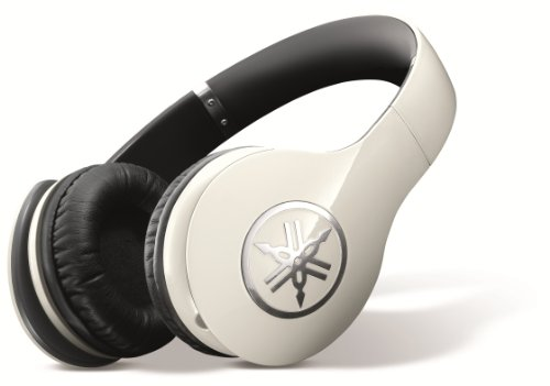 Yamaha High Fidelity Over Ear Headphones Ivory
