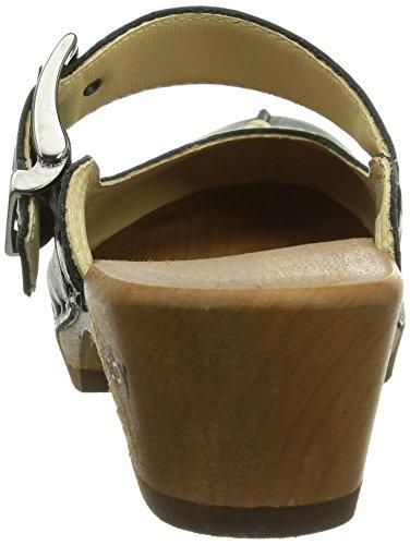 da Jaqueline scarpe donna nere 9651 Woody qptOwBw