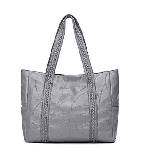 Messenger Femme Mobile Grand Simple Sac ZHRUI coréenne Femme Sac du Couture épaule Bag Gris Version Sauvage Sac qOIx7xpCw