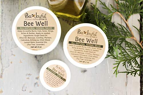 Bee Joyful Bee Well - Herbal Salve - All Natural