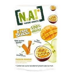 Nature Addicts Apple Passion Mango Fruit Sticks, 1.06 Ounce -- 30 per case.