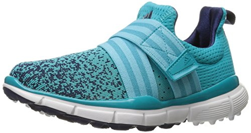 adidas Women's Climacool Knit Golf Shoe, Energy Blue, 5.5 M US by adidas
