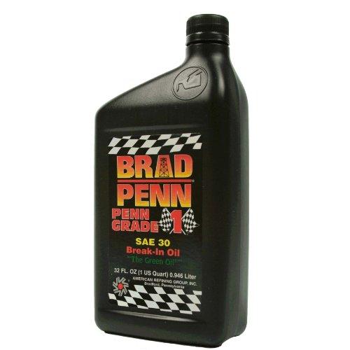 Brad Penn Oil 009-7120 30W-12PK Engine Break-in Oil - 1 Quart Bottle, (Case of 12)