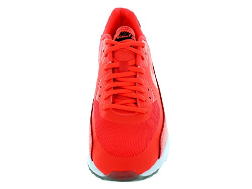 Black 90 Max ginnastica da Air Red Scarpe Leather Uomo White NIKE qUw6aTU