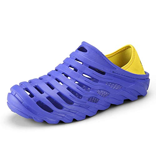 Men's Waterproof Beach Sandals - Elastic Heel Leisure Hollow Outdoor Casual Shoes,2019 New