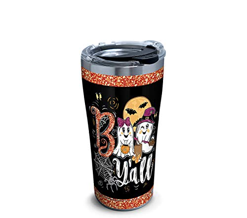 Tervis 20 oz Stainless Steel Simply Southern Boo Y'all Halloween Tumbler ()