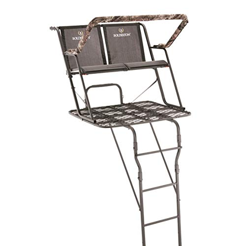 (Bolderton 17' Deluxe Two-Man Ladder Stand)