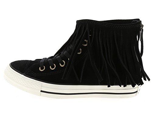 Converse - Converse All Star Ctas Fringe Suede Sport Shoes Black Woman beige HxLc5E5i