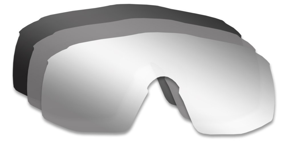 Bolle B-Rock Clear Grey 50903 Lenses Modulator Oleophobic Anti-Fog Sunglasses One Color Greys Distribution